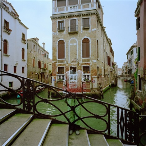 hiding in the city lagoon city of venice by liu bolin
