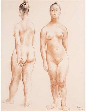 desnudas by francisco zúñiga