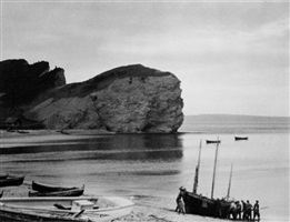 percé beach, gaspé, québec by paul strand