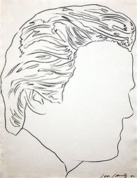 untitled (jon gould) by andy warhol