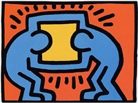 pop shop vi (2) by keith haring