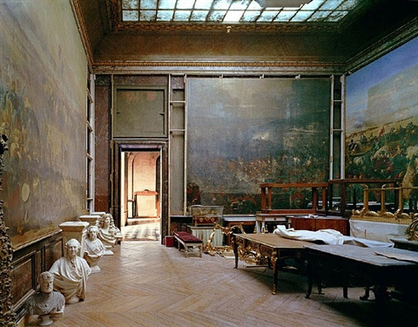 salle de l'afrique no. 5, chateau de versailles by robert polidori
