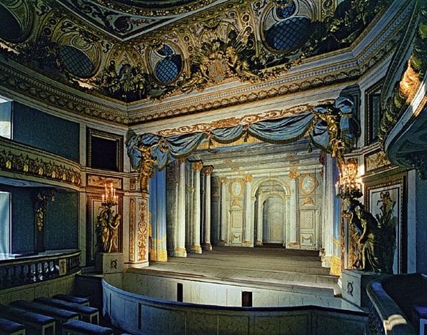 theatre du petit trianon, chateau de versailles by robert polidori