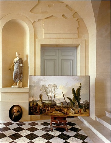 la galerie basse, no. 2, chateau de versailles by robert polidori