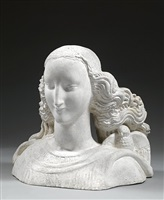 tête idéale (ideal head) by alfred auguste janniot