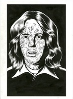 portrait from black hole: after by charles burns
