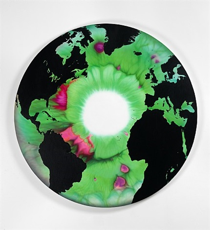 the eye of history (atlantic perspective) green ocean by marc quinn