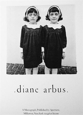 vintage poster by diane arbus