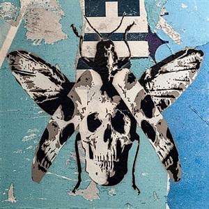 cranium a tinea (blue) by rich simmons