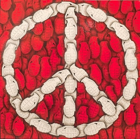 achieving peace (red) by rich simmons