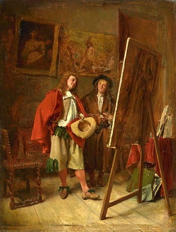 connoisseur at the artist's studio by jean louis ernest meissonier