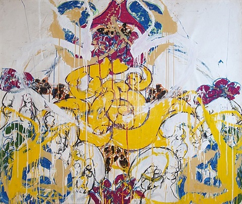 fresco #3 by norman bluhm