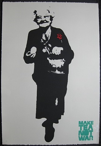 make tea not war by bambi