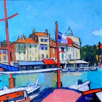 french flag, cassis by archie forrest