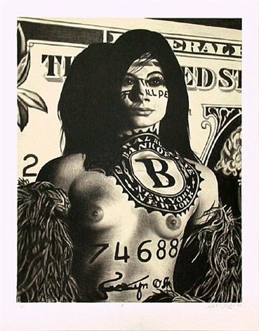 $ (dollar) by richard phillips