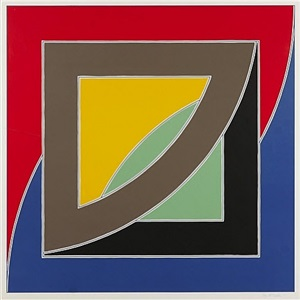 river of ponds iii by frank stella