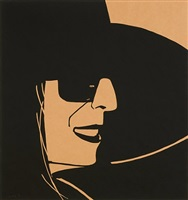 large black hat ada by alex katz