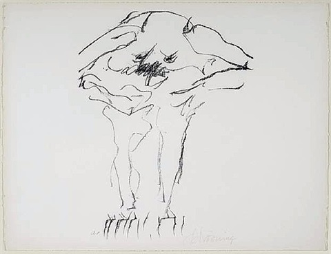 clam digger from portfolio 9 by willem de kooning