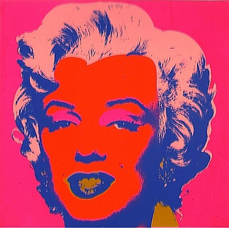 marilyn monroe (ii.22) by andy warhol