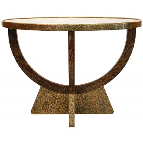 palmwood coffee table by eugene printz