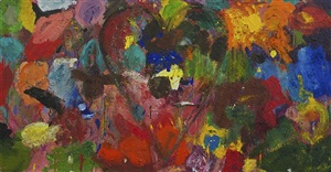 the glade of color by jim dine