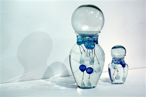 bottles of tears by jean michel othoniel