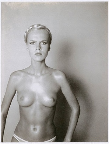big nude (variant) by helmut newton