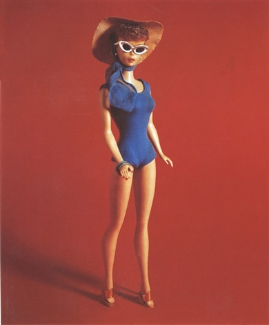 in the swim ponytail barbie by david levinthal