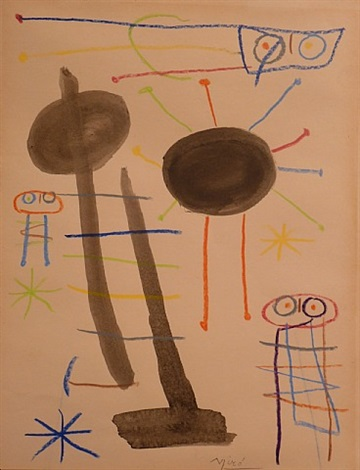 untitled by joan miró