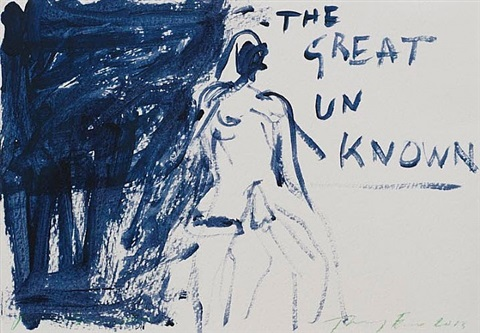 the great unknown by tracey emin