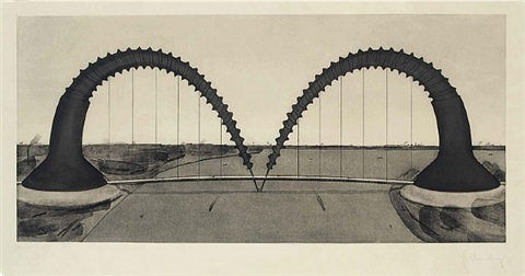 screwarch bridge by claes oldenburg