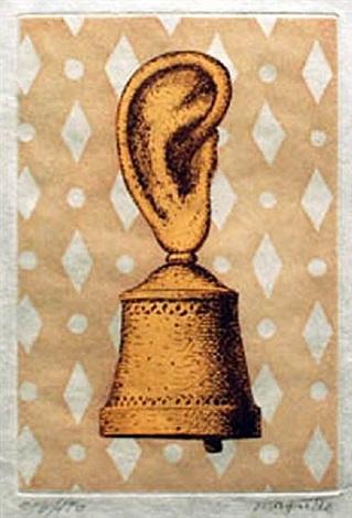le leçon de musique (kaplan-baum, 15) by rené magritte