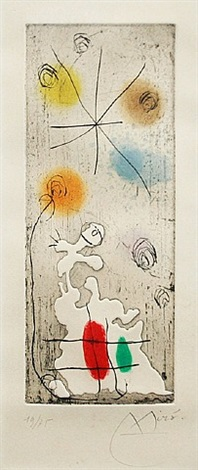 petite barriere by joan miró