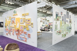 armory show 2010, installation view by nancy chunn