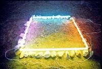 lightinstallation - maasvlakte by han goan lim