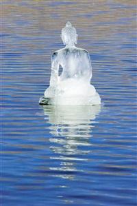 ice buddha no. 1 by gade
