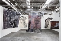 the armory show 2012, installation view by leon golub