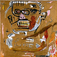 il duce by jean-michel basquiat