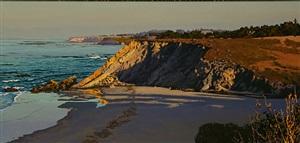 early light sonoma coast by peter loftus