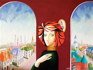 girl from boston by alexander anufriev