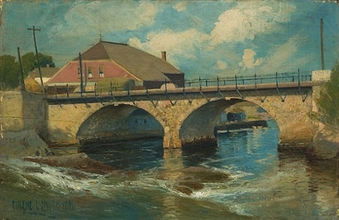 pawtuxet afternoon by eugene l. smyth