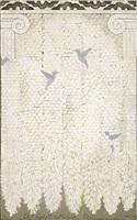 hanging gardens series (wisteria iii), by robert rahway zakanitch