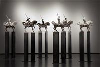 maqueta caballos i, ii, iii (2av) by javier marin