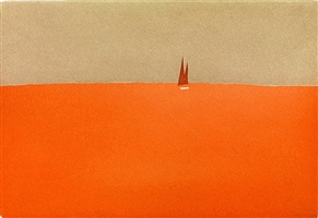 red sail by alex katz