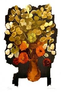 flores by oswaldo guayasamín