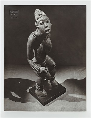 untitled (the bangwa queen) by man ray