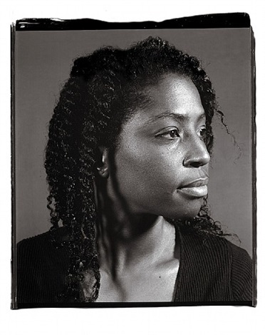lorna simpson by chuck close