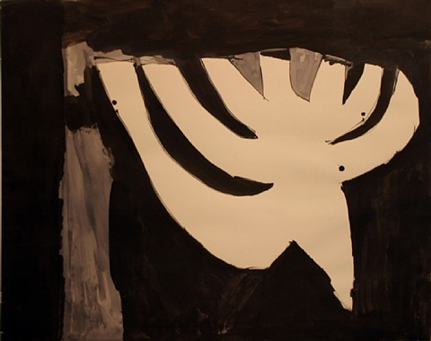 candelabra by robert motherwell