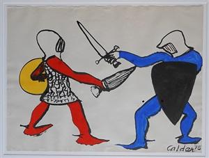 knights by alexander calder