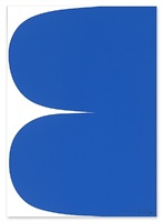 blue curves by ellsworth kelly